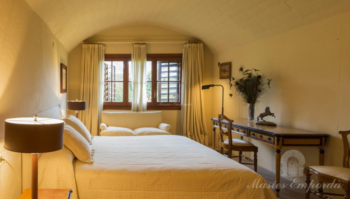 Una de la habitaciones de la casa