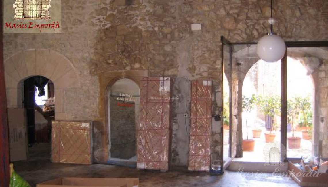 Hall de entrada a la casa