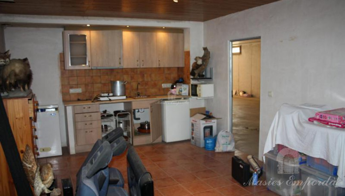Habitación con cocina auxiliar
