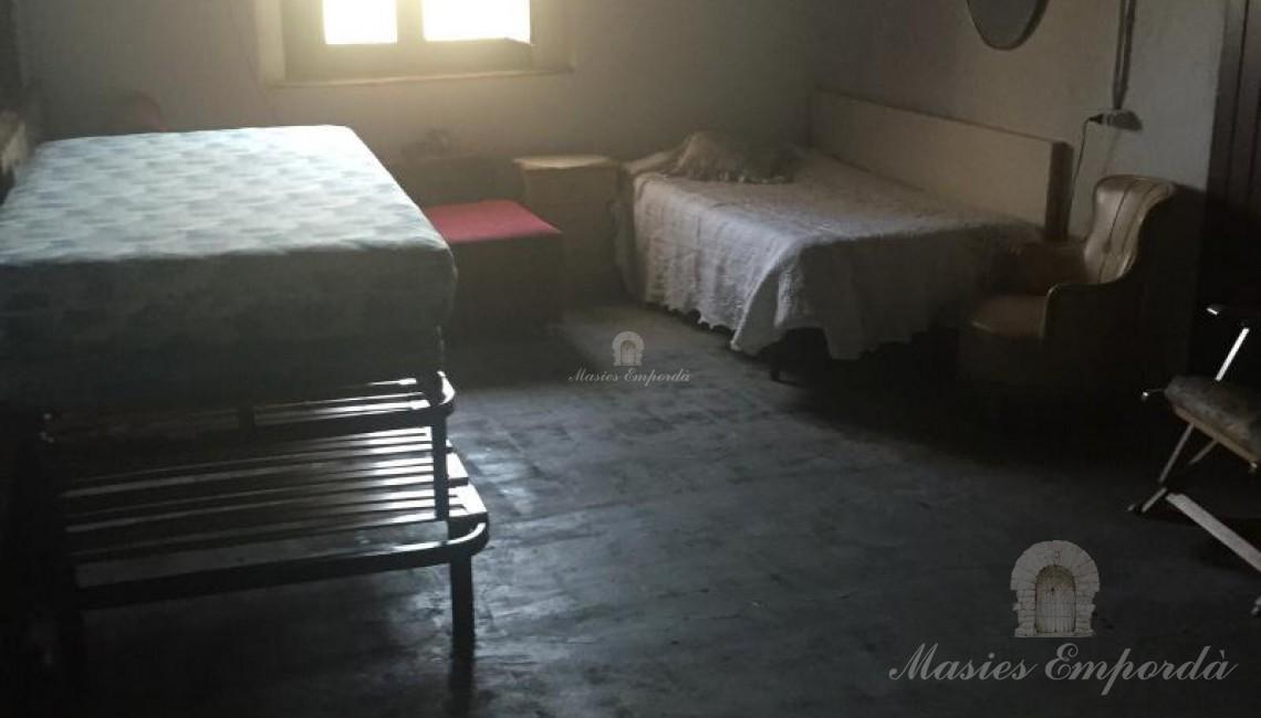 Una de las habitaciones de la casa