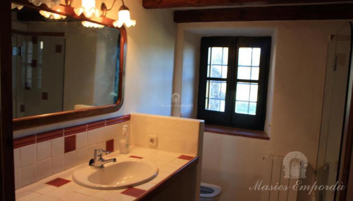 Uno de las baños de la casa