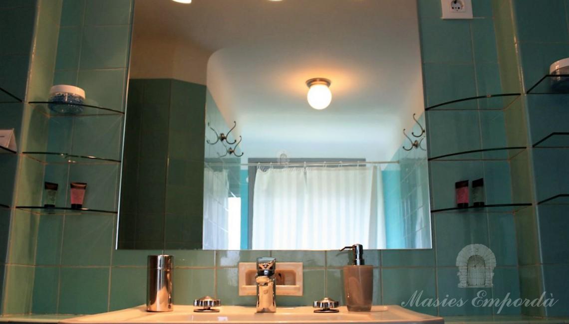 Uno de los baños de la habitación