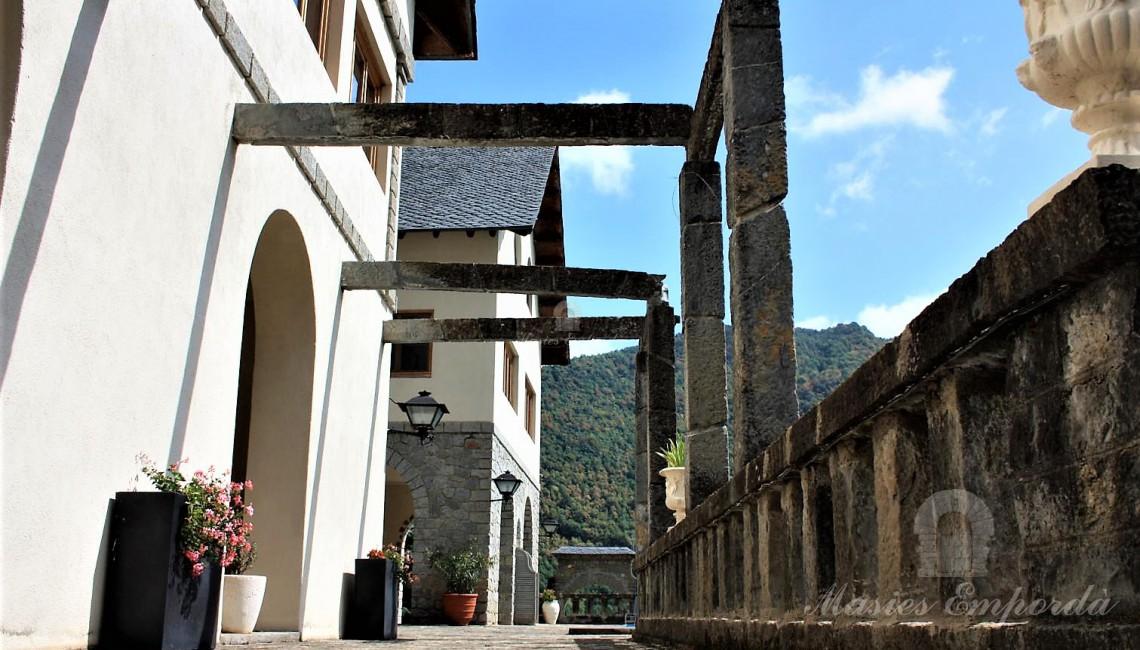 Detalles de los pasos de terraza