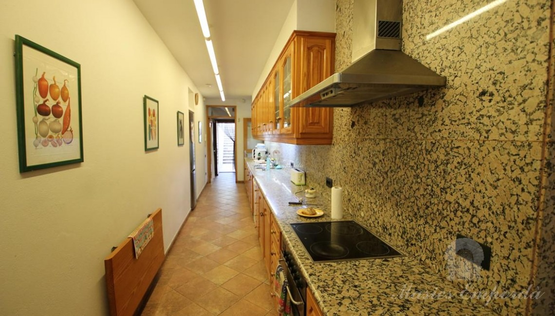 Vistas de la cocina