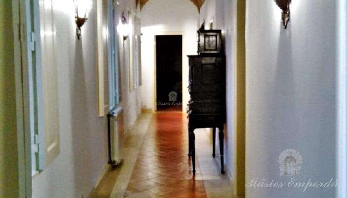 Pasillo de acceso a estancias de la casa
