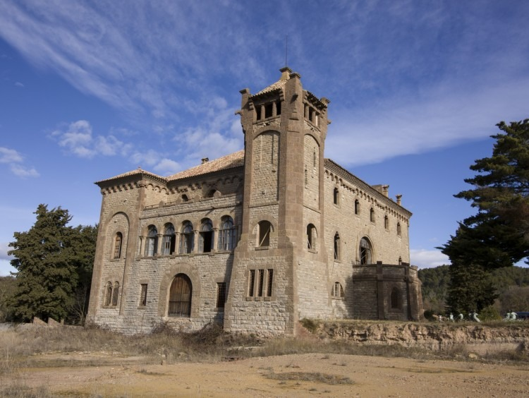 Vista generales del castillo