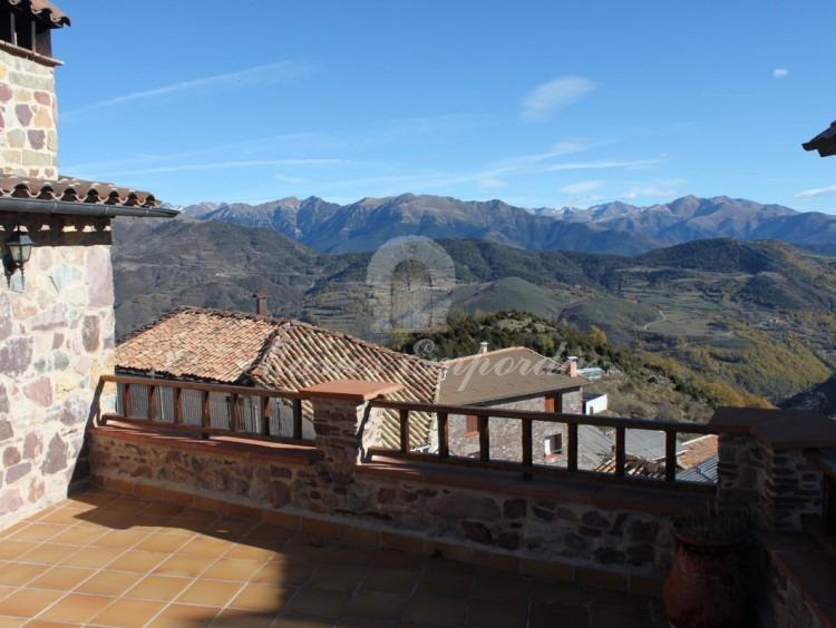Vistas desde la terraza de una de la casas