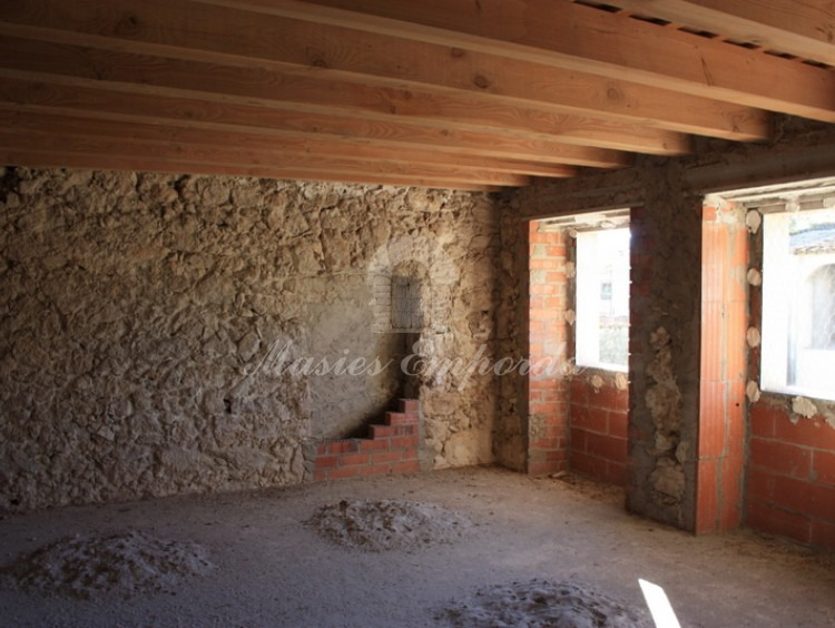 Estancias de la primera planta teóricas habitaciones.