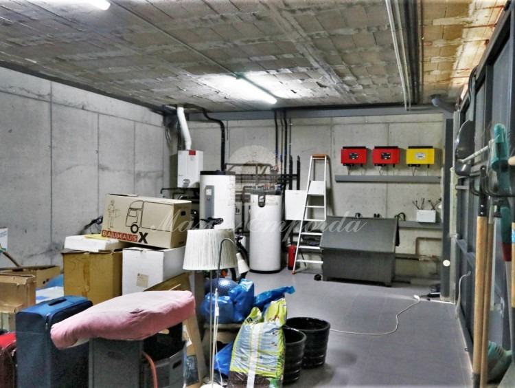 Garaje de la casa